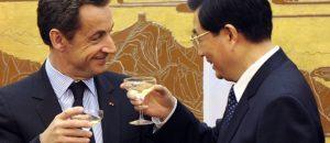 The Sarkozy-Hu Jintao Link (source: Le Point)