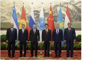 Leaders of SCO member states, June 7, 2012 (Source: Xinhua)