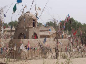 """""""The shrine of Imam Askari, near Khotan."""""""
