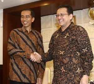 "Joko Widodo, or ""Jokowi"" (left), the popular former mayor of Solo (Surakarta), Indonesia, is widely cited as an exemplary city leader in an area of decentralized governance (Image source: Regional Representative Council of Indonesia)."