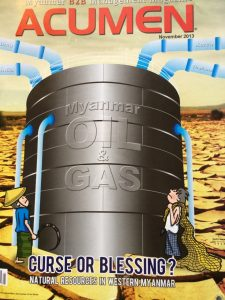 Will Myanmar's wealth of natural resources be a blessing or curse? (Source: Acumen Magazine)