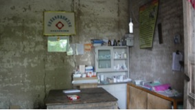An old village doctor's clinic at his home (Credit: Jiong Tu).