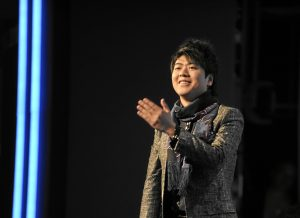 UN Messenger for Peace and renowned Chinese pianist Lang Lang pictured in 2010 (credit: World Economic Forum).
