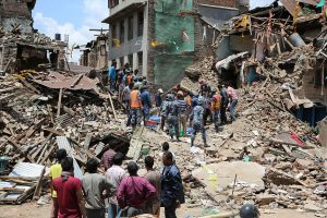 The recent devastation in Nepal and the response to it reveals the fault lines of soft power and strategic interests (Credit: Voice of America).
