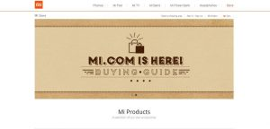 Xiaomi recently opened an online store to sell accessories and start building a brand name in the West (Credit: Xiaomi).