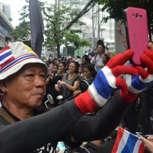 Improving Political Engagement via Facebook in Thailand